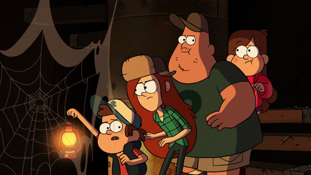#4 Into The Bunker from Gravity Falls (Fav Eps) by InfraredToa