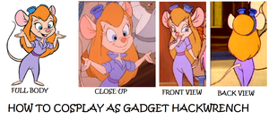 How to Cosplay as Gadget Hackwrench by Prentis-65