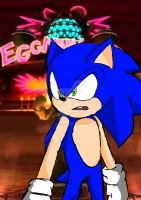 Sonic in Eggman Land by therealtahj