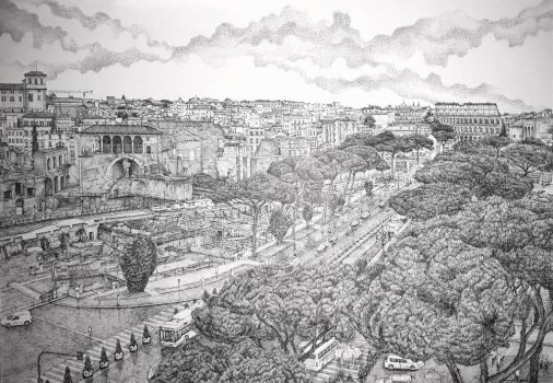 The Eternal City (3)  by edwin-Huang