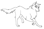 Traced Balto base - female mutt by TBAdopts