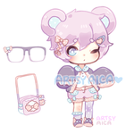 Points/Paypal Kemonomimi Auction: [CLOSED] by ArtsyAica