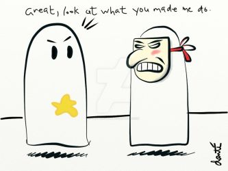 What Ghosts Do to Each Other by graphixgeek