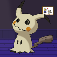 Mimikyu by Matrix456
