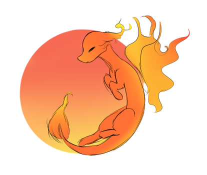 Day 2 : Noodle dragon by thesarcasticloner