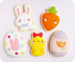 Easter / Spring Sugar Cookie Pattern by CraftersBoutique