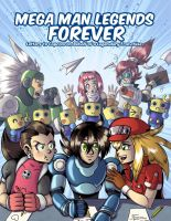 Mega Man Legends Forever by digitallyfanged