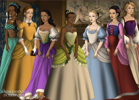 More Disney Ladies - Made with Tudors Dollmaker by dollmake