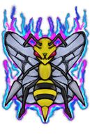 Pokemon - Beedrill by dragonfire53511