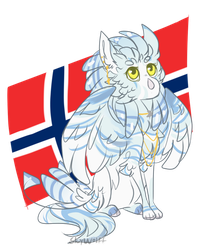 Norwegian girl by SkyWolff