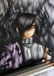 Rogue Cheney - Colored Drawing by InlineSpeedSkater