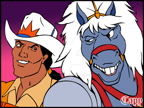 Bravestarr and 30/30 by ElCapy