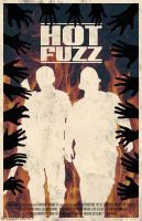 Hot Fuzz poster by billpyle