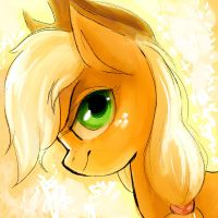 Applejack by StaticDragon1