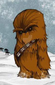 Chewbacca the Wookie by UMINGA