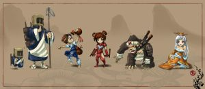 Far East Characters by gumustdo
