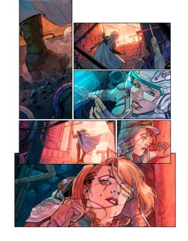 Comic project. by Xermanico