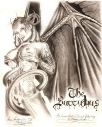 The Succubus by shad0w-w0lf