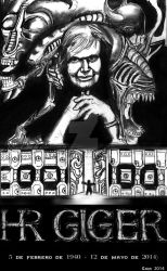 tributo H.R. GIGER by noctetenebres