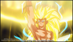 SSJ3 Future Trunks Galactic Buster (TOP What-if) by TheOnePhun211