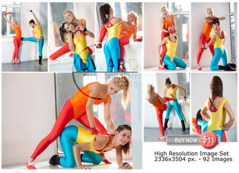 Gym girls catfight -92 High resolution images -$11 by Edward-Photography