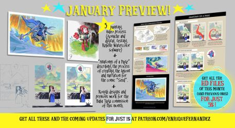 January Preview by EnriqueFernandez