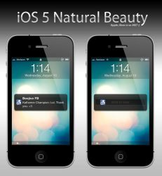 iOS 5 Natural Beauty by Tjdyo