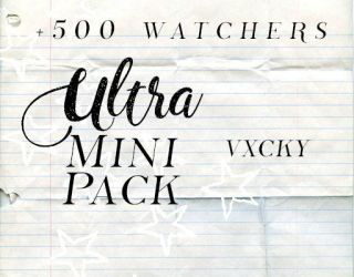 +500 watcher resources pack by vxcky