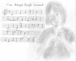 Jacky Faber Plays Whistle by RoseBrigid