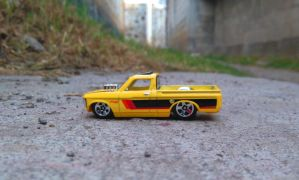 72 Custom Chevy Luv by MannuelAlegria
