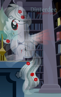 Dinterdee The Ghost Pony by MonkFishyAdopts