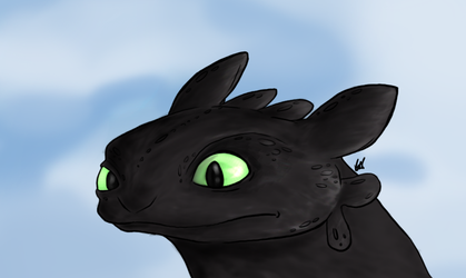 Toothless by RenegadeOnTheRun