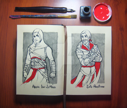 DisneyStyle: Altair and ezio by Cuine