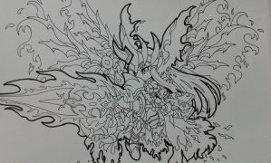 Brave Frontier: Lava 7 star by GabryTales96