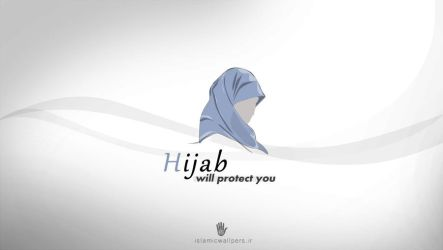 hijab by islamicwallpers