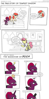 The TRUE story of Tempest Shadow by PerfectBlue97