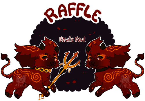 {RAFFLE - Day 7 - Devil's Deal - CLOSED} by Renga-ADOPTS
