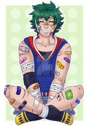 BNHA: Class 1-A bandaids by Fluffytail-Zombie