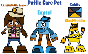 Mixels: OC's tribes: Puffle Care Pet by Luqmandeviantart2000