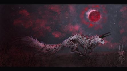 red of the night by Valrunie