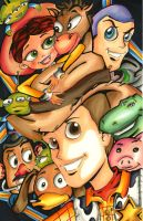 Toy Story by Viewtifulash