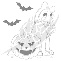 Halloween YCH Auction (CLOSED) by KipAnimations