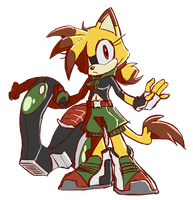 Derah Sonic Riders Style by debrodis