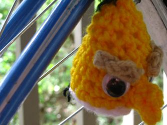 Angry Birds - Yellow Amigurumi by Lady-Nocturna