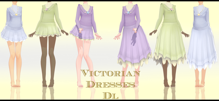 .:Victorian Dresses Dl:. by Crystallyna