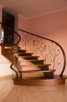 Wooden Stairs 16089538 by StockProject1