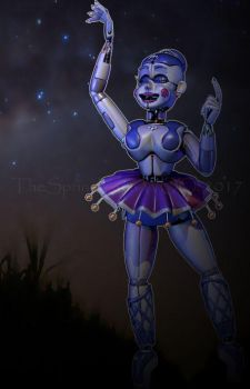 [C4D/FNAF] -Ballora wallpaper- by TheSpringYanaWOO
