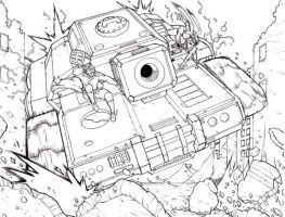 Operation: Boom Pencils Sample 1 by RecklessHero