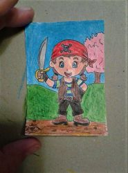 Aceo #72 toon series by ShelandryStudio
