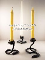 Candle holders by isolatedreality
